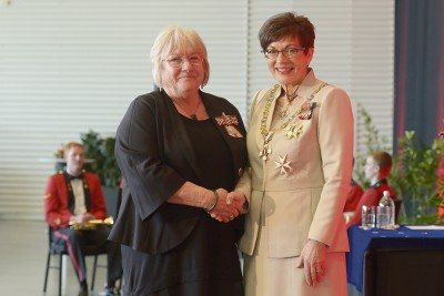 Image of Frances Diver, of Alexandra, QSM, for services to the community