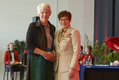 Image of Penelope Molnar, of Nelson, QSM, for services to the community