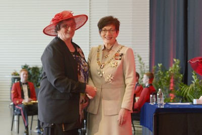 Image of Rosemarie Searle, of Kumara, QSM, for services to the community and sport
