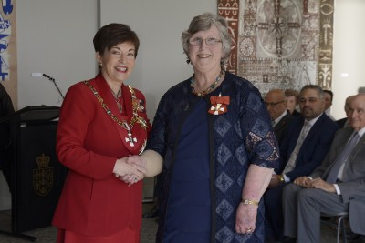 Image of Elizabeth Bang, of Hamilton, CNZM, for services to health, women and the community