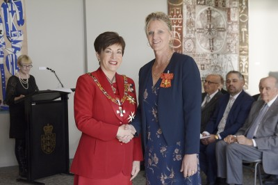 Image of Kirsten Hellier, of Auckland, ONZM, for services to sport, particularly athletics