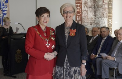 Image of Lynda Reid, of Auckland, ONZM, for services to education
