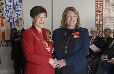 Image of Samara Nicholas, of Whangarei, MNZM, for services to marine conservation and education