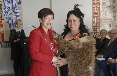 Image of Christine Panapa, of Tuakau, MNZM, for services to sport and Māori