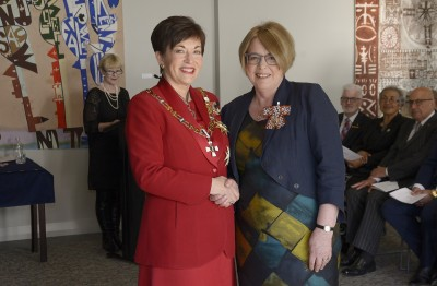 Image of Dr Mary Ballantyne, of Te Awamutu, QSM, for services to women's and children's health