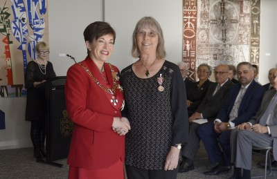 Image of Linda Conning, of Ohope, QSM, for services to conservation