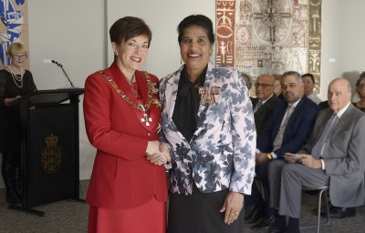 Image of Mavis Singh, of Manukau, QSM, for services to migrants and the community