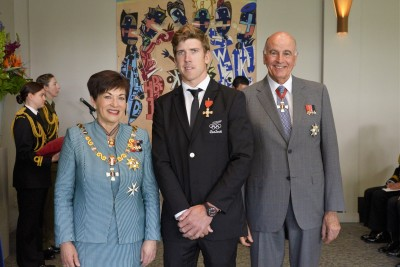 Image of Peter Burling, of Tauranga, MNZM, for services to sailing
