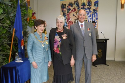 Image of Dr Carolyn Peters, of Whangarei, QSM, for services to the community