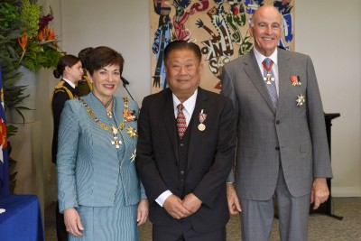 Image of Thanh Tran, of Auckland, QSM, for services to philanthropy and Asian communities