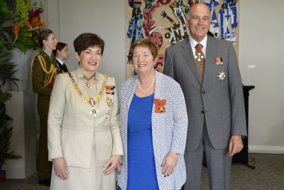Image of Gillian Gemming, of Tauranga, ONZM, for services to hockey