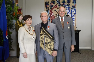 Image of Millan Ruka, of Whangarei, MNZM, for services to conservation