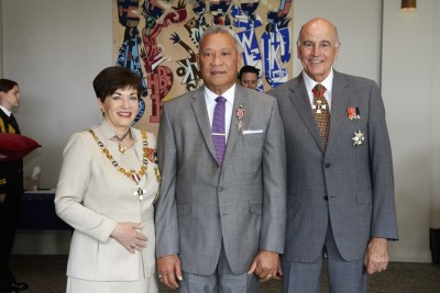Image of Reverend Lucky Slade, of Auckland, QSM, for services to the Samoan community
