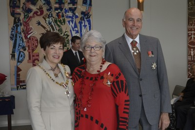 an image of Christine Hartstone, of Raglan, MNZM for services to equestrian sport
