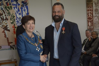 an image of Darryl Suasua, of Drury, MNZM for services to rugby