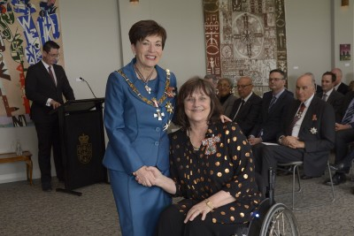 an image of Geraldine Pomeroy, of Hamilton, QSM for services to people with disabilities