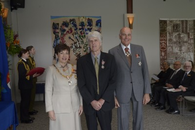 an image of John Jackets, of Kerikeri, QSM for services to music
