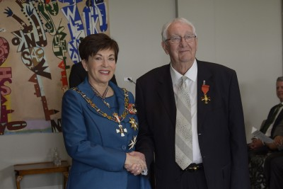 an image of Robert Kerridge, of Havelock North, ONZM for services to animal welfare and governance