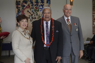 an image of Tafafuna'i Fa'atasi Lauese, of Auckland, QSM for services to the Pacific community
