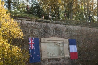 an image of The New Zealand Memorial on the ramparts of Le Quesnoy