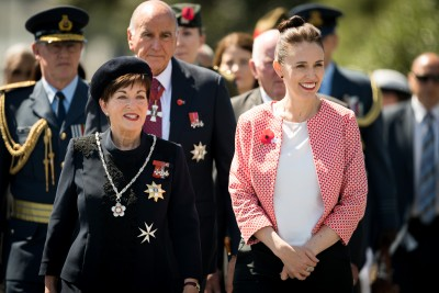 an image of Dame Patsy and Prime Minister Jacinda Adern