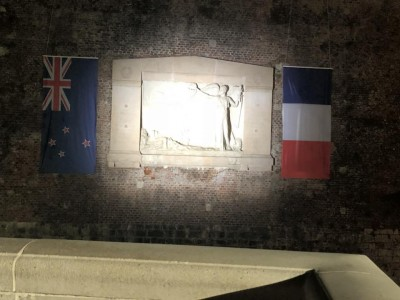 an image of New Zealand Memorial on the ramparts of Le Quesnoy