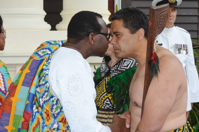 Image of High Commissioner for the Republic of Ghana, HE Mr Edwin Nii Adjei
