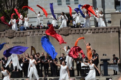 an image of Dancers evoking the spirit of jubilation