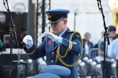 Image of the conductor of the NZDF BAND