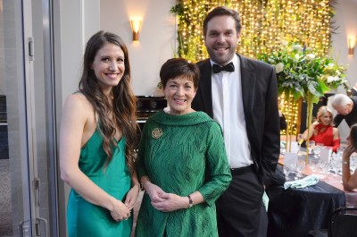 Image of Dame Patsy with Lucy Marinkovich and Lucien Johnson