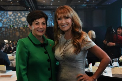 an image of Dame Patsy with Jane Seymour