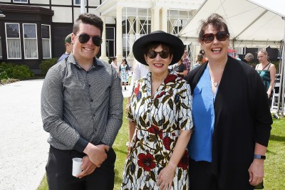 Image of Dame Patsy with Diane and Greg Laughton