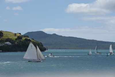 an image of Yachts, North Head and Rangitoto