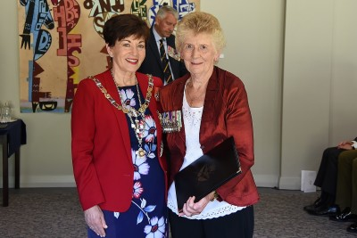 Image of Dawn Flutey and Dame Patsy