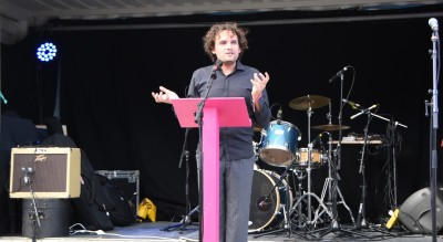 Image of artistic director and curator Sam Trubridge