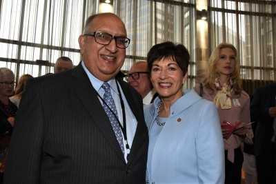 Dame Patsy and former Governor-General, Sir Anand Satyanand