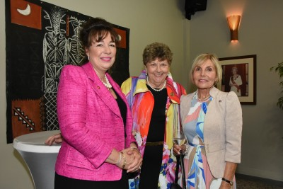 Victoria Carter, Dame Wendy Pye and Dame Rosie Horton