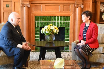 Image of Prince Hassan offers his condolences to New Zealand on behalf of the people of Jordan