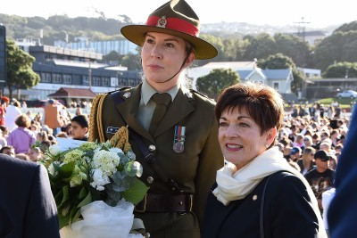 Image of Dame Patsy and ADC Grace Blanks
