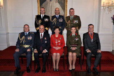 Defence Chiefs, Their Excellencies, and Defence Force Honours recipients