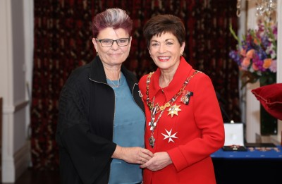 Image of Vivien Maidaborn, of Wellington, MNZM, for services to human rights and social entrepreneurship