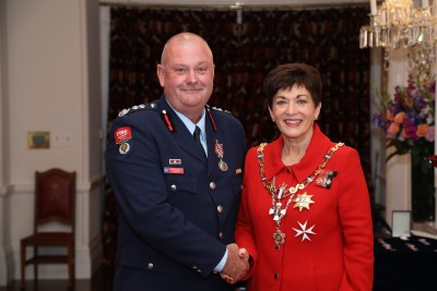 Mark Buckley, of Lyttelton, QSM, for services to Fire and Emergency New Zealand and the community