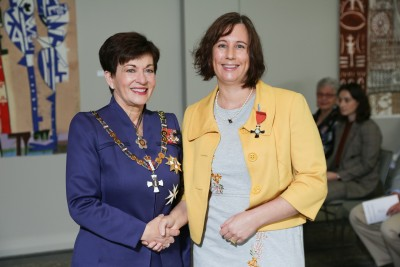 Image of  Gina Dellabarca, of Auckland, MNZM, for services to the film industry