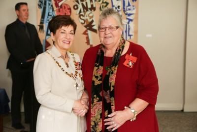 Image of  Liz King, of Auckland, MNZM, for services to aviation