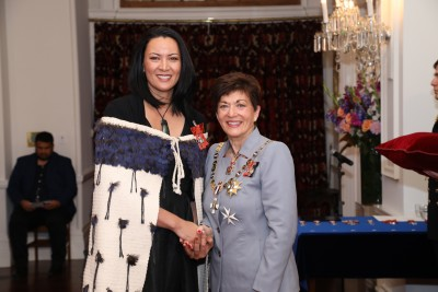 Image of Laurie Wharemate-Keung, of Auckland, MNZM, for services to children