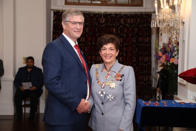 Image of Professor Andre Van Rij, of Dunedin, ONZM, for services to health, particularly vascular surgery
