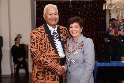 Image of  Reverend Ola Tofilau, of Papakura, QSM, for services to the Pacific community