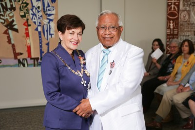 Image of Reverend Penesikoto Togiatama, of Auckland, QSM, for services to the Niuean community