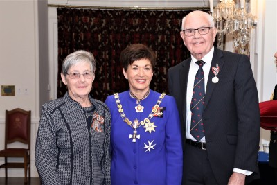 Ngaire and Ronald Rowe, of Palmerston North,QSM, for services to the community