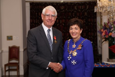 Image of  Russell Howie, of Nelson, ONZM, for services to environmental resource management